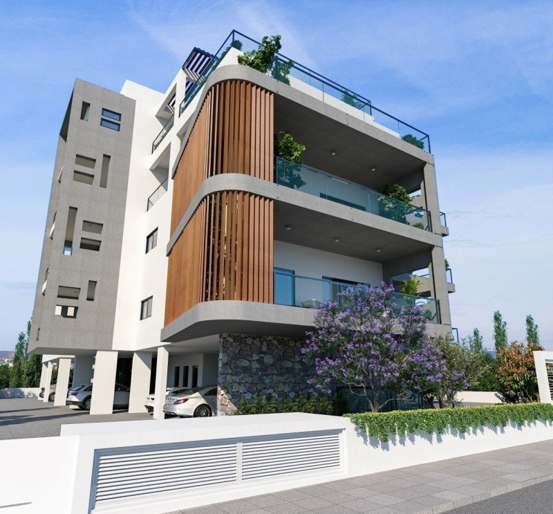 Apartment Buildings For Sale: Limassol Property, Contemporary 3-Bedroom Apartments.