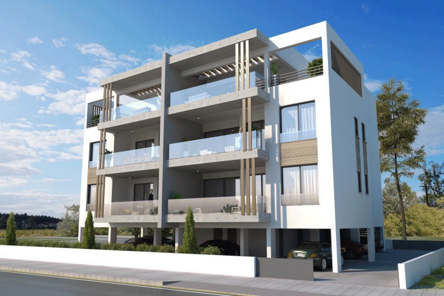 Limassol Property, Contemporary 2-Bedroom Apartments.