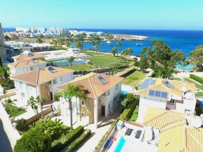 Superb Beach Front Villa in Protaras