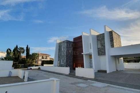 contemporary Villa with Big Plot in Protaras